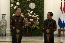 Bertemu PM Belanda, Jokowi Tekankan