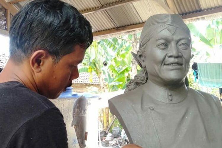 Patung Didi Kempot di Bantul