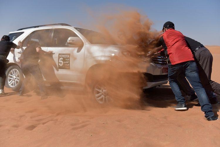 Selain perjalanan yang menantang, Toyota pun selalu sigap mendengarkan suara konsumen (Dok. Toyota)