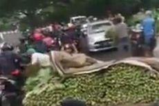Viral Video Pedagang Buang dan Bagikan Sayur ke Pengguna Jalan, Kesal karena Dagangan Tak Laku
