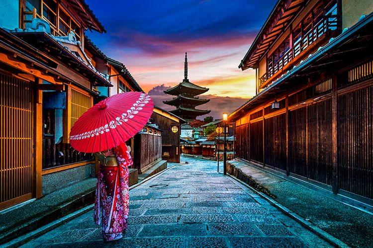 Kyoto di Jepang.