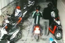 Viral Rekaman CCTV Curanmor di Rawa Belong, Seorang Pelaku Kenakan Jaket Ojol