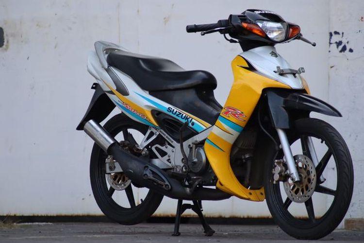 Ilustrasi motor bekas Suzuki Satria Hiu
