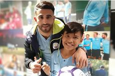 Kisah Rizky, Bocah Korban Gempa Palu, Akhirnya Bertemu Bintang Manchester City Idolanya
