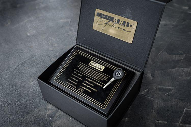 Royal Enfield dan Smoked Garage meluncurkan custom kit untuk Himalayan dan Interceptor 650
