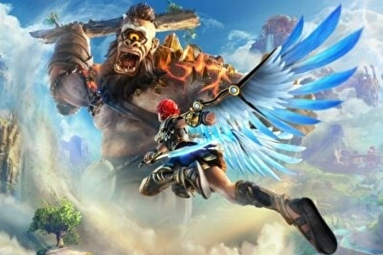 Ilustrasi game Immortal Fenyx Rising.