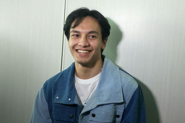 Jefri Nichol saat ditemui di kawasan Senayan, Jakarta Pusat, Jumat (13/3/2020)