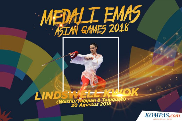 Medali Emas Lindswell Kwok