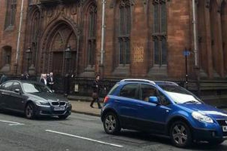 Perpustakaan tertua di Kota Manchester di Inggris.