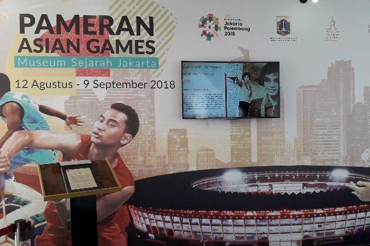 Museum Sejarah Jakarta membuka pameran Asian Games dan menyambut delegasi negara - negara asing selama Asian Games 2018 berlangsung.