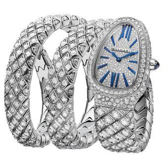 Bvlgari Serpenti Spiga High Jewellery 2021