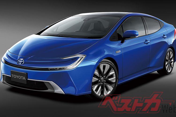 Ilustrasi Toyota Prius Hidrogen