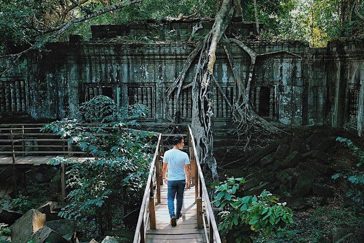 Hendrick Hartono di Kamboja.