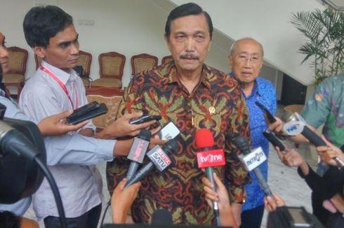 Presiden Jokowi Tunjuk Luhut Binsar Pandjaitan sebagai Plt Menteri ESDM