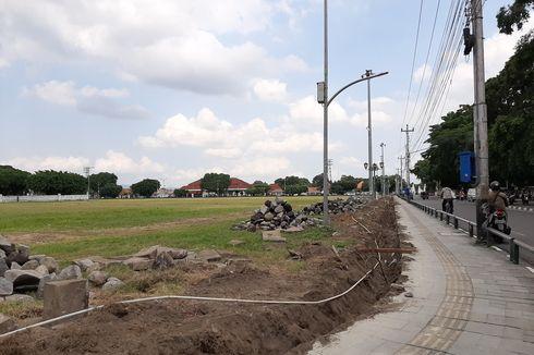 Dikembalikan ke Bentuk Asli, Alun-alun Utara Yogyakarta Dibangun Pagar Besi