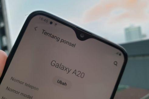 Samsung Galaxy A20s Dibekali Tiga Kamera Belakang?