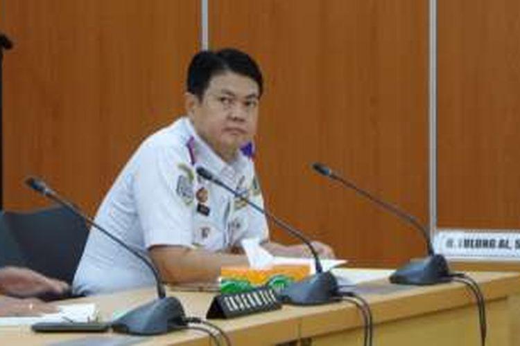 Kepala Dinas Perhubungan dan Transportasi DKI Jakarta Andri Yansyah sebelum mengikuti rapat bersama Komisi B DPRD DKI Jakarta, Senin (18/7/2016). Rapat digelar dalam rangka membahas kelanjutan wacana kebijakan pelat ganjil genap.