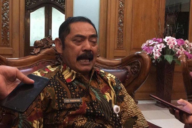 Wali Kota Surakarta, FX Hadi Rudyatmo ditemui di kantornya, Rabu (4/12/2019).