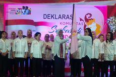 Jokowi Disebut Sahabat Perempuan, Srikandi Solo Deklarasi Dukung Jokowi-Ma'ruf Amin