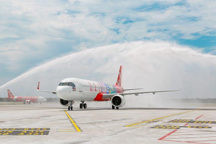 Pesawat A321neo milik AirAsia.