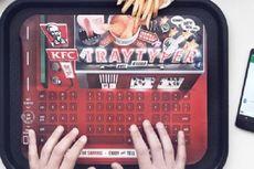 Keren, Nampan KFC Bisa Jadi Keyboard Ponsel