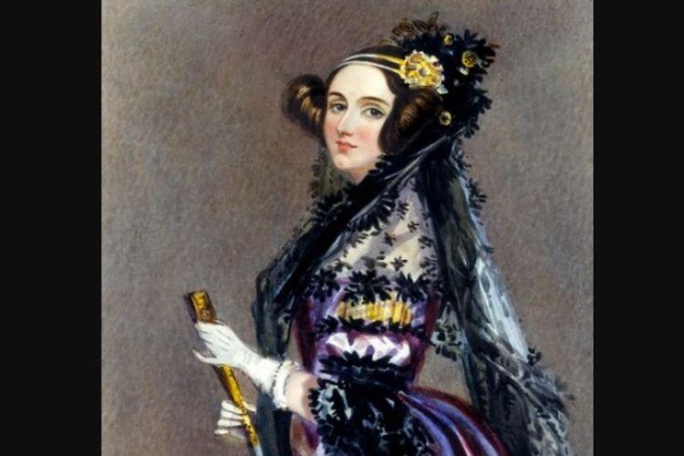 Ada Lovelace yang dikenal sebagai programmer komputer pertama dunia.
