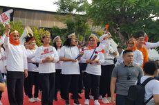 Peringati Hari Ibu, Iriana Jokowi Hadiri Acara Jalan Sehat bersama Penyandang Disabilitas