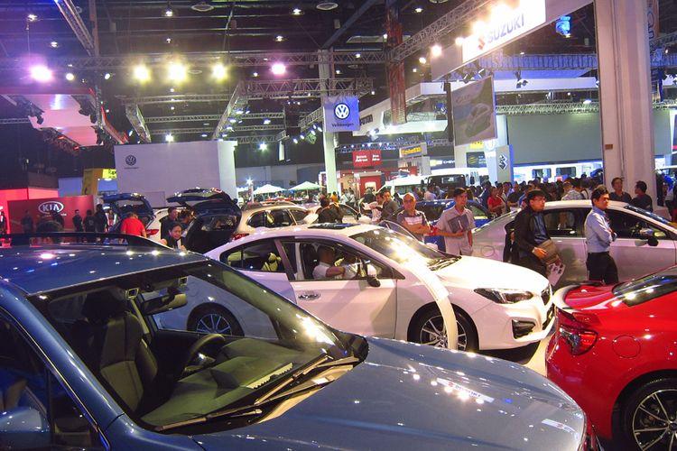 Ilustrasi pameran otomotif MIAS