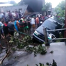 Longsor di Semarang, Mobil Kijang Terperosok ke Saluran Air