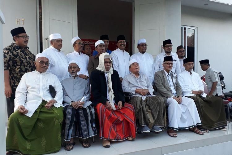 Kiai dan ulama pesantren pendukung Jokowi dan Prabowo serukan perdamaian pasca-Pilpres 2019.