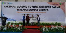 Dompet Dhuafa dan Kimia Farma Berikan 2.000 Dosis Vaksin untuk Masyarakat Lombok Barat