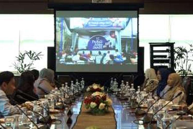 Diskusi mengenai Program Sosial Bank Indonesia (PBSI) yang dilakukan di Jakarta, Senin (24/10/2016).