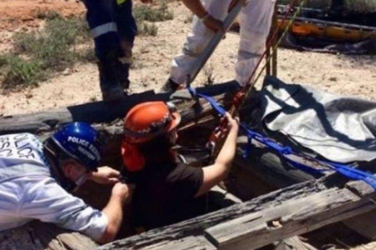Penyelamatan ini terjadi di salah satu lokasi paling terpencil di New South Wales, Australia, yang dikenal sebagai tambang batu permata. (Australia Plus)