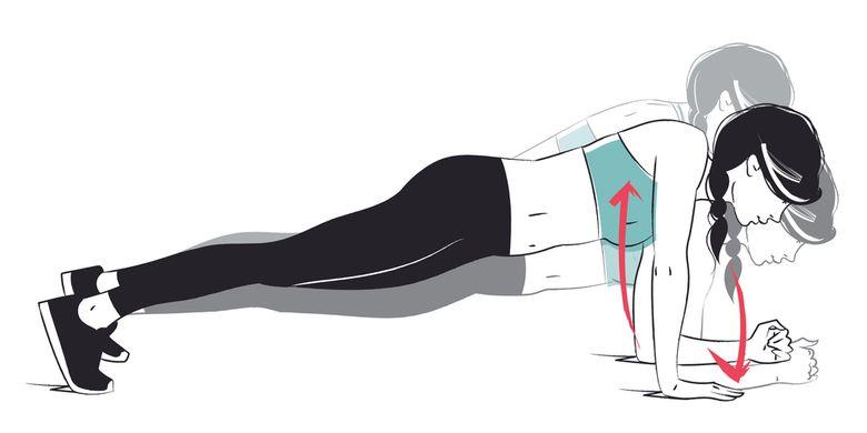 Ilustrasi Comando Plank