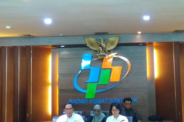 Kepala Badan Pusat Statistik (BPS) Suhariyanto, di Kantor BPS, Senin (2/9/2019).