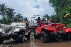 Wisata Jelajah Borobudur Naik Mobil Jeep dan Motor Trail Masih Relatif Stagnan