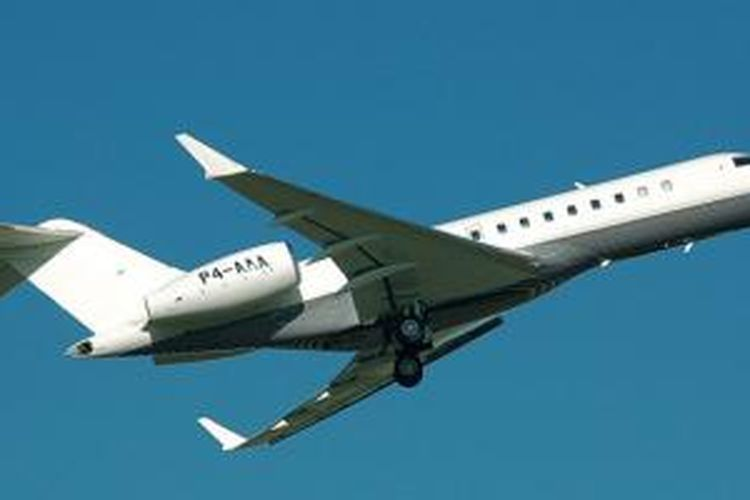 Pesawat jet Bombardier Global Express