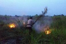 Lahan Gambut di Muaro Jambi Terbakar