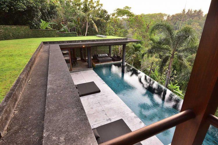 Ilustrasi Villa di Bali.