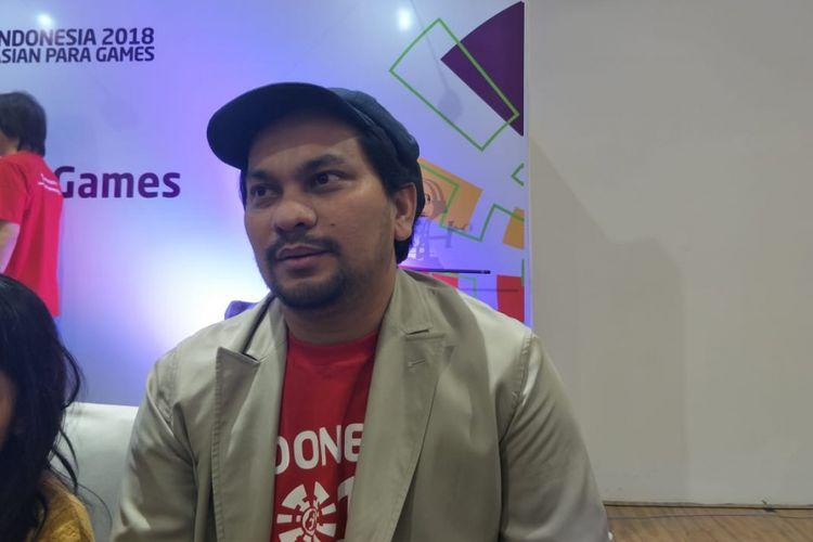 Tompi saat ditemui di GBK Arena, Senayan, Jakarta Pusat, Senin (24/9/2018).
