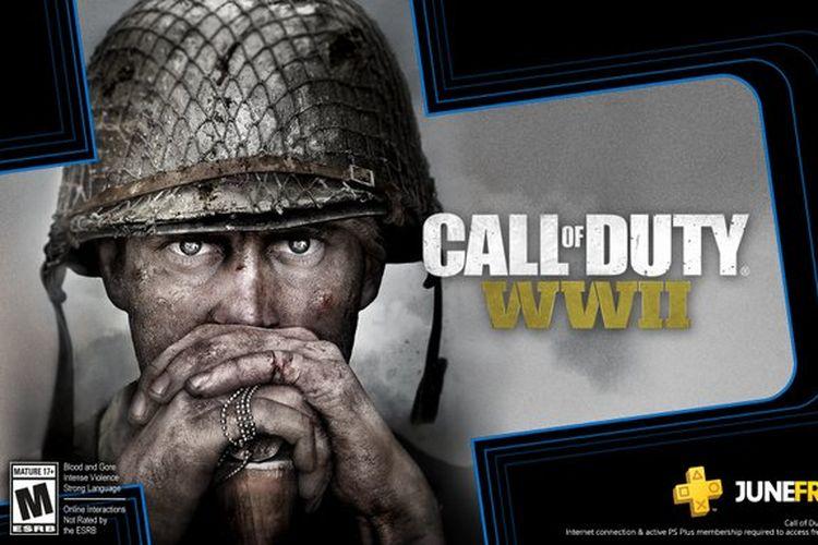 Game Call of Duty: WW II jadi game gratis PS Plus Juni 2020.