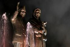 Cinta Habibie-Ainun Abadi di Monumen Cinta Sejati Parepare