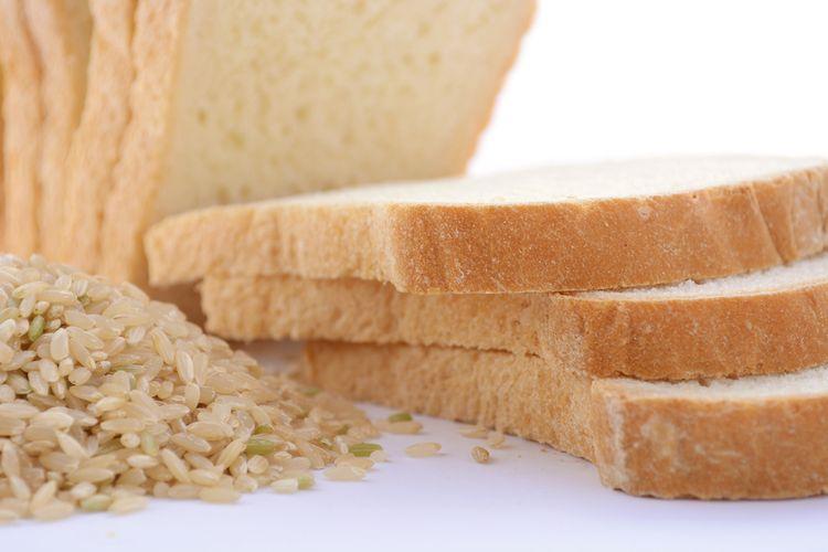 ilustrasi nasi dan roti