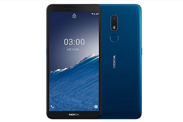 Nokia C3 resmi dirilis di Indonesia dengan harga Rp 1,6 juta.