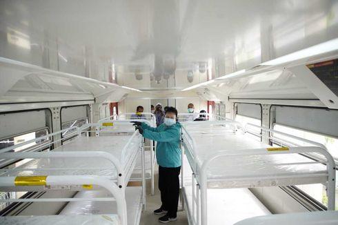 Ruang Isolasi Covid-19 Penuh, Wali Kota Madiun Pinjam Gerbong Kereta Isolasi Milik PT INKA