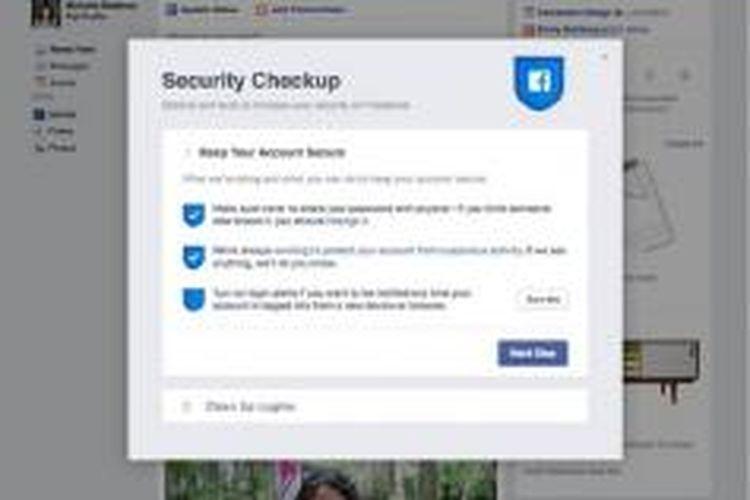 Facebook merilis fitur kemanan baru pada layanannya