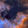 Menakjubkan, Nebula Amerika Utara Tertangkap Lensa Lapan di Kupang