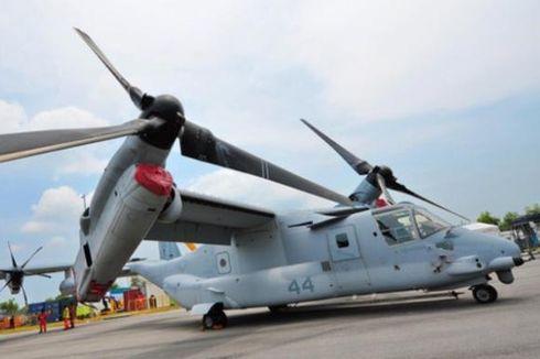 Pesawat Militer AS Jatuh di Perairan Australia, 3 Orang Masih Hilang