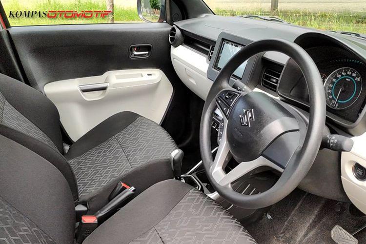 Interior Suzuki Ignis facelift