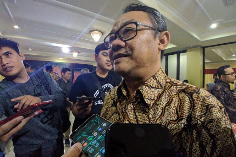 Sekretaris Umum PP Muhammadiyah Abdul Muti di Kantor PP Muhammadiyah, Jakarta, Senin (10/2/2020)